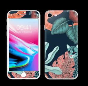 Jungelkatt Skin IPhone 8