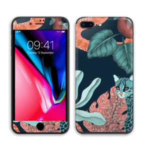 Jungelkatt Skin IPhone 8 Plus