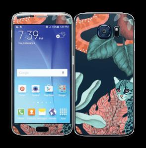Jungelkatt Skin Galaxy S6