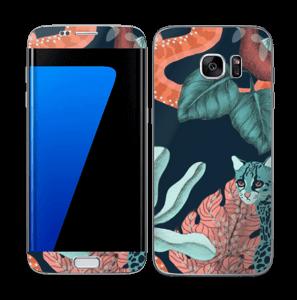 Jungelkatt Skin Galaxy S7 Edge