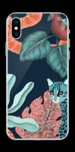 Jungelkatt Skin IPhone X