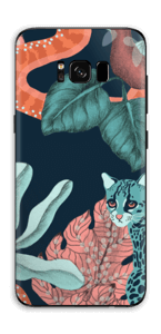 Chat Sauvage Skin Galaxy S8 Plus