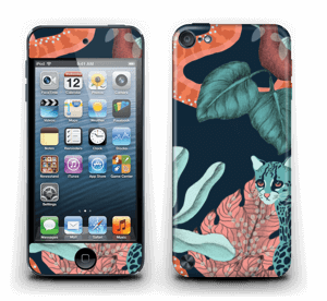Jungle Cats Skin IPod Touch 5th Gen
