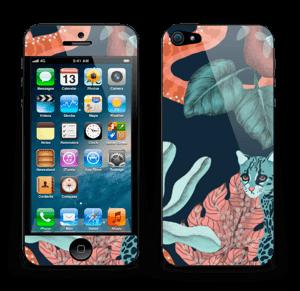 Jungelkatt Skin IPhone 5