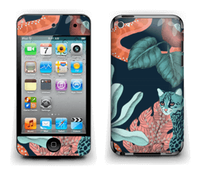 Jungelkatt Skin IPod Touch 4th Gen