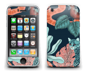 Jungelkatt Skin IPhone 3G/3GS