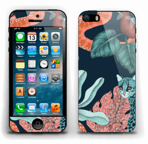 Jungelkatt Skin IPhone 5s