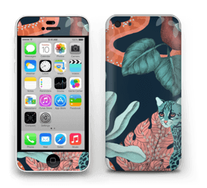 Jungelkatt Skin IPhone 5c