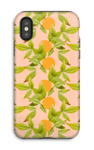 Citronnier Coque  IPhone X tough