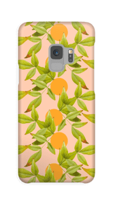 Zitronenblätter Handyhülle Galaxy S9