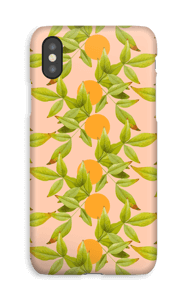 Loner Leaves case IPhone XS