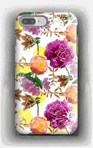Magiske blomster deksel IPhone 7 Plus tough