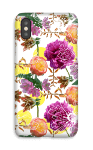 Magic flowers case IPhone X