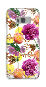 Magiske blomster cover Galaxy S8 Plus
