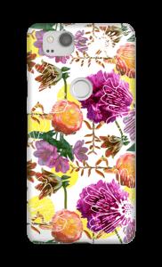 Magische bloemen hoesje Pixel 2