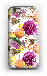 Magic flowers case IPhone 6 tough