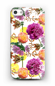 Magic flowers case IPhone SE