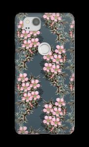 bloempatroon hoesje Pixel 2