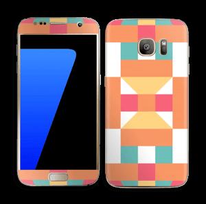 Géométrique Skin Galaxy S7
