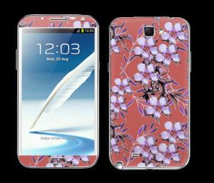 Violettes Skin Galaxy Note 2