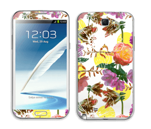Floral Magic Skin Galaxy Note 2
