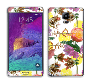 Floral Magic Skin Galaxy Note 4