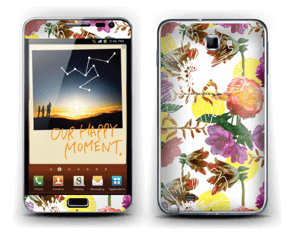 Flower magic Skin Galaxy Note