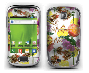 Flower magic Skin Galaxy Mini