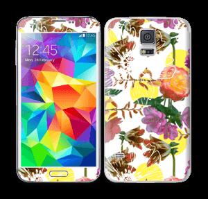 Blomstermagi Skin Galaxy S5