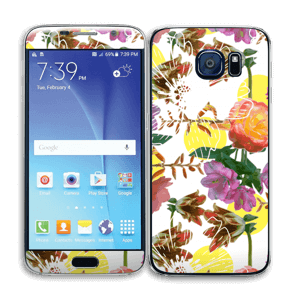 Blomstermagi Skin Galaxy S6