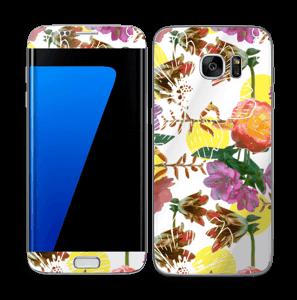 Flower magic Skin Galaxy S7 Edge
