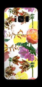 Blomstermagi Skin Galaxy S8
