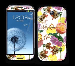 Blomstermagi Skin Galaxy S3