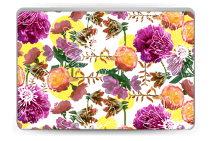 Floral Magic Skin Laptop 15.6