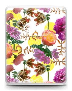 Magnifiques Fleurs Skin IPad 1