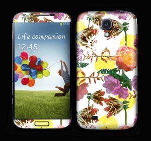 Floral Magic Skin Galaxy S4