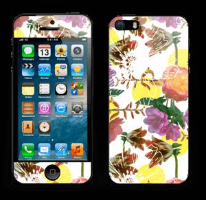 Magnifiques Fleurs Skin IPhone 5s