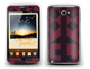 Graphic print Skin Galaxy Note