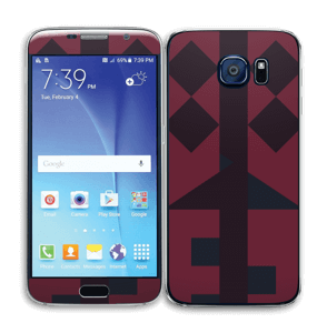 Formes Graphiques Skin Galaxy S6