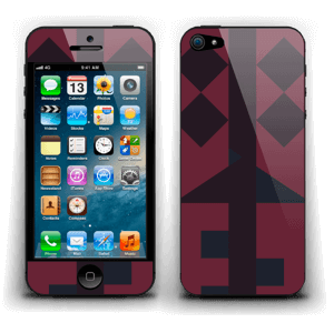 Formes Graphiques Skin IPhone 5