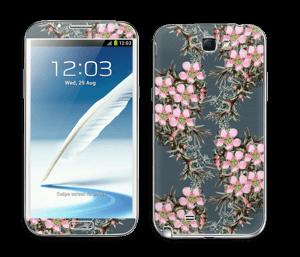 Mes Fleurs Skin Galaxy Note 2