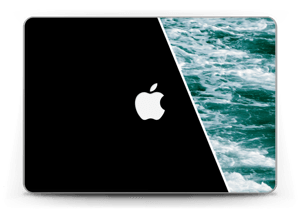 "Black Water Skin MacBook Pro Retina 13"" 2015"