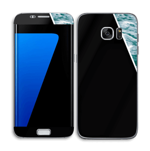 Black Water Skin Galaxy S7 Edge
