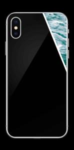 Black Water Skin IPhone X