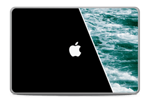 "Black Water Skin MacBook Pro 17"" -2015"