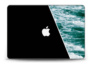"Black Water Skin MacBook Pro Retina 15"" 2015"