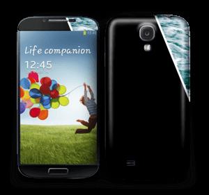 Black Water Skin Galaxy S4