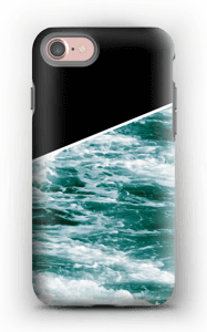 Zwart water hoesje IPhone 7 tough