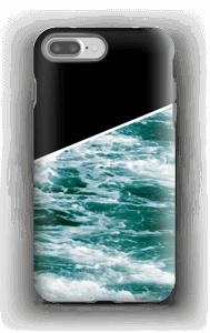 Zwart water hoesje IPhone 7 Plus tough