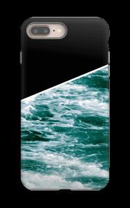 Musta meri kuoret IPhone 8 Plus tough